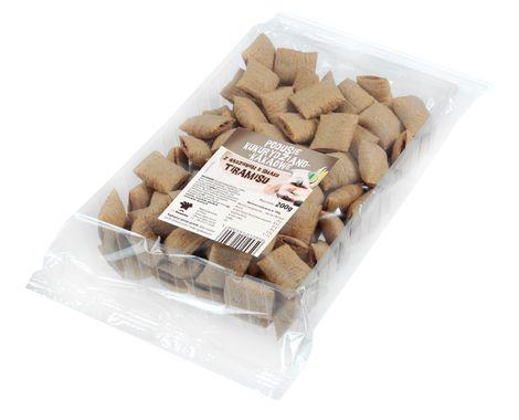 Podusie kakaowe nadziewane kremem o smaku tiramisu